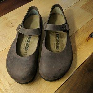 ec3d4a38ce80 Birkenstock Shoes - New Birkenstock Mantova Oiled Leather Shoes 39